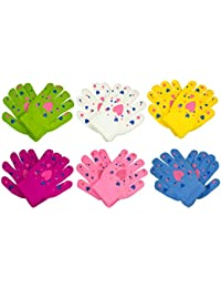 Toddler/Children Winter Knitted Magic Gloves Wholesale Lot 6-12 Pairs