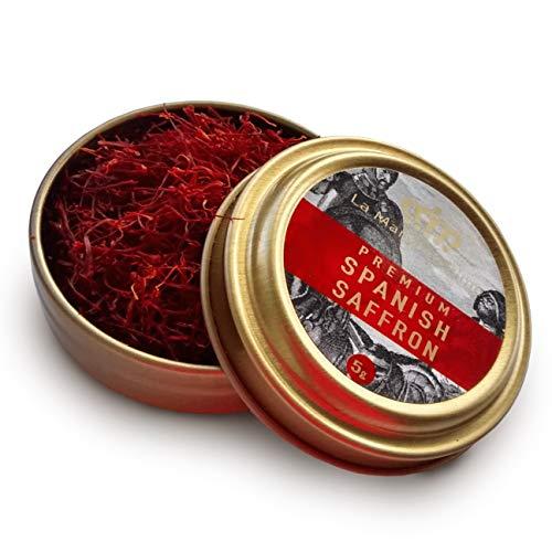 La Mancha Prime, 5 Grams, ALL RED Premium Spanish Saffron