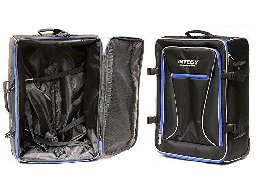 - Integy RC Model Hop-ups C24007BLUE Team Integy Hauler Carrying Bag w/Trolley Wheels & Handle L23 W17 H10 in.
