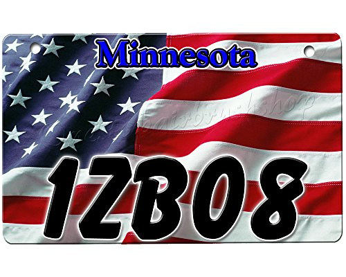 onestopairbrushshop ATV License Plate