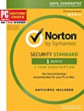 Symantec Norton Security Standard - 1 Device - 1 Year Subscription - [PC/Mac/Mobile Key Card]
