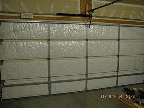 NASA Tech Reflective White Foam Core Garage Door Insulation Kit 16L x 7H by Ant Enterprises