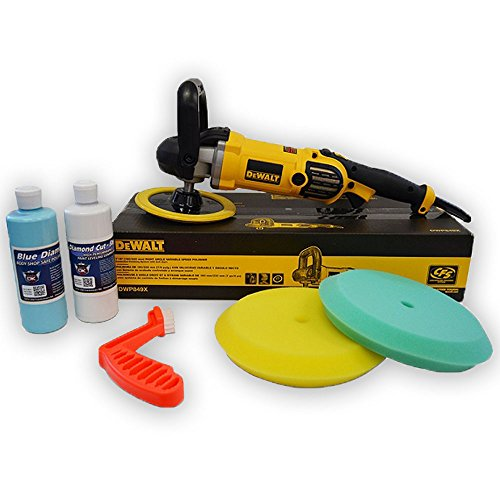 DeWalt DWP849X Alt Buffer Buff N Glaze Value Package