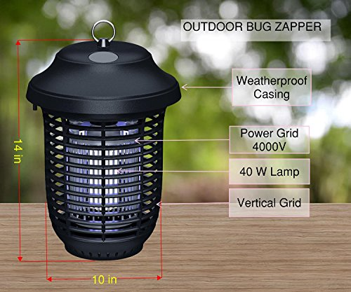 Insect Killer Zapper 40w Bulbs Super Strong Zapper Home