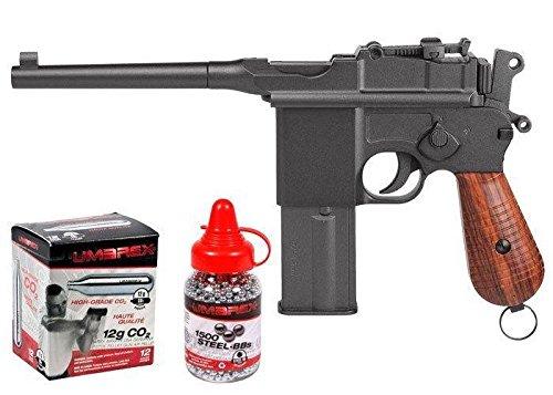 Legends M712 Full-Auto CO2 BB Gun Kit, Full Metal air pistol by Legends