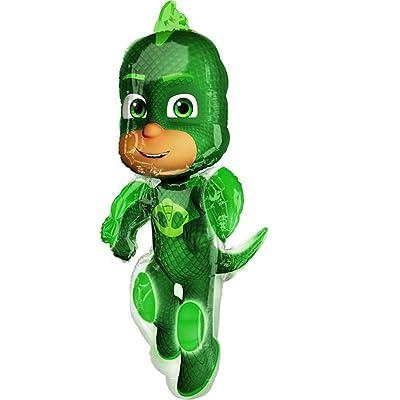 PJ Masks Gekko Super Shape Foil Balloon: Toys & Games [5Bkhe0202707]