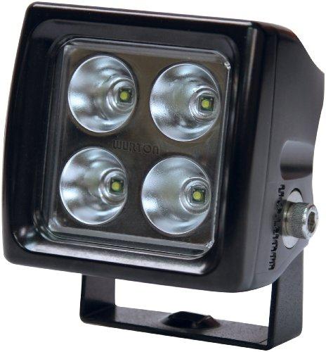 WURTON 38042 Black Dual Scout Flood Beam Cube Light