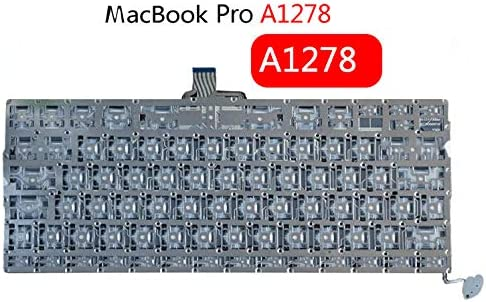 New ZGJLY Replacement Laptop Keyboard for Apple MacBook Pro 13 A1278 2009 2011 Mid-2012 MD101 MD102 MB466 MB990 MB991 MC374 MD313 MC724