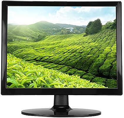 Wendry Monitor LED de 14 Pulgadas, Pantalla de computadora LED, Pantalla de Alta definición de 1024 x 768 con Interfaz VGA Que Puede Proporcionar una Imagen Clara(UE): Amazon.es: Electrónica