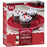Cheap Katz Gluten Free Peppermint Crunch Chocolate Cupcakes | Dairy, Nut and Gluten Free | Kosher (6 Packs of 4 Muffins, 10 Ounce Each)