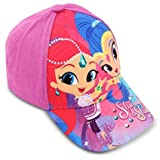 Product review for Nickelodeon Toddler Girls Shimmer & Shine Cotton Baseball Cap, Age 2-5