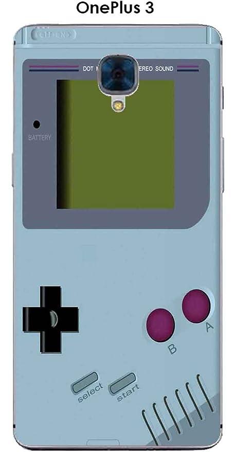 Carcasa OnePlus 3 Design Game Boy Aquamarine: Amazon.es ...