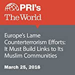 Europe's Lame Counterterrorism Efforts: It Must Build Links to Its Muslim Communities | Rachel Gotbaum