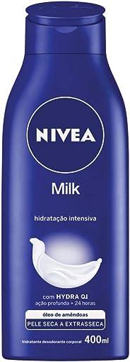Hidratante Desodorante Nivea Milk 400Ml, Nivea