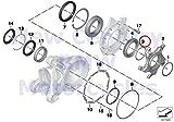 BMW Genuine Motorcycle Gear Bearing O-Ring 62X2-N-FPM 80 R nine T R1200GS Adventure HP2 Enduro HP2 Megamoto R1200RT R900RT R1200R R1200ST HP2 Sport R1200S K1200S K1300S K1200R Sport K1