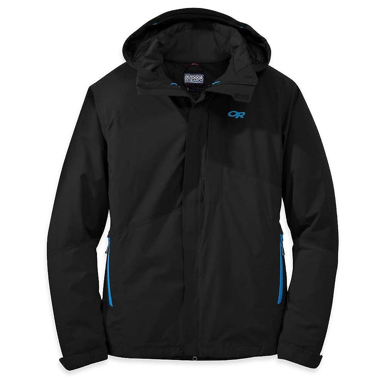 アウトドアリサーチ アウター ジャケットブルゾン Outdoor Research Men's Offchute Jacket Black / Ta qqh [並行輸入品] B076CM7SC3