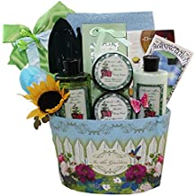 Gardeners Delight Green Tea Spa Bath and Body Gift Basket