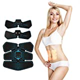 ABS Stimulator Ultimate Abdominal Muscle Toner Toning Belt Home Exercise Training Gear Portable Fitness Machine for Arm, Thigh, Waist for Men, Women