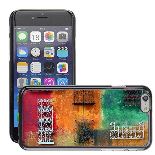 """Premio Sottile Slim Cassa Custodia Case Cover Shell // V00001958 Colorful mur // Apple iPhone 6 6S 6G PLUS 5.5"""""""