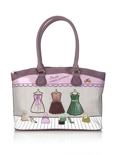 Hoy Collection Borsa Ada Paris Mon Amour Multicolore