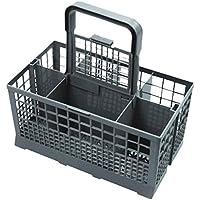 Panier à couverts universel Compatible avec les lave-vaisselles Bosch/Hotpoint/Neff/Siemens/Smeg Gris
