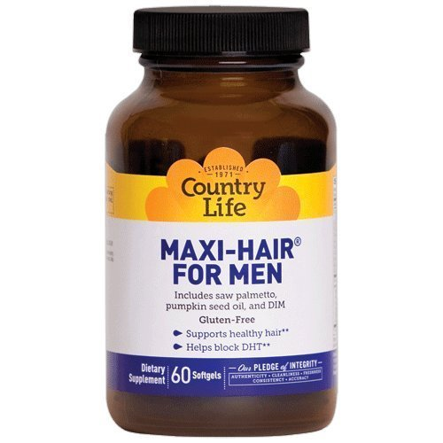 Maxi Hair For Men 60 TABS by Country Life
