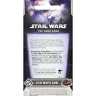 Star Wars LCG: Assault on Echo Base: Fantasy Flight Games: Toys & Games