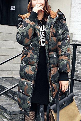 Chaud De L'hiver Mignon Outercoats Xs Les Parkas À 2 Polaire Doublés Vêtements Femmes Midi 50CqwnpHx