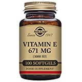 Cheap Solgar – Vitamin E 1000 IU Mixed (d-Alpha Tocopherols & Mixed Tocopherols) 100 Softgels