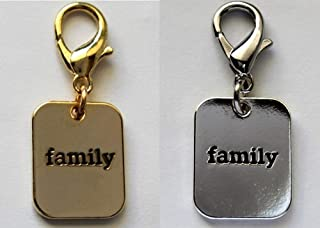 product image for Diva-Dog 'Family' Dog Collar Charm