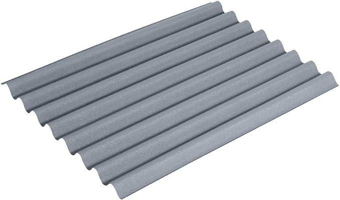 ONDULINE EASYLINE - Lámina de color gris intenso, 1000 mm x 760 mm, 2,6 mm: Amazon.es: Bricolaje y herramientas