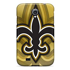 SherriFakhry Samsung Galaxy S4 Excellent Hard Phone Covers Customized Attractive New Orleans Saints Pattern [CYe14314NPiV]