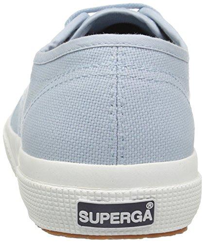 Superga Damen 2750 Cotu Sneaker Staubiges Blau