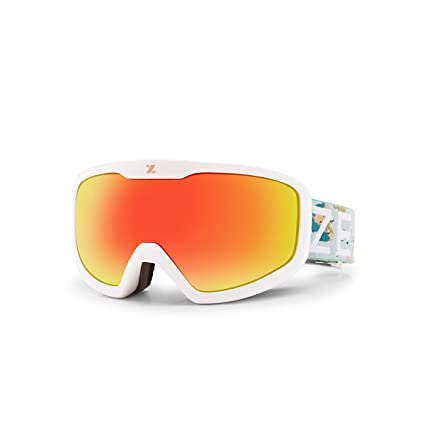 Zeal Optics Tramline Goggles - Full Frame Ski & Snowboard Goggles -  Everclear Anti-Fog Lenses + Universal Helmet Fit