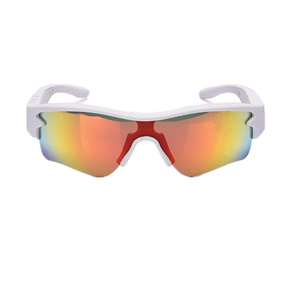 YFFS Cycling Glasses Bicycle Color-Changing Glasses Adult Outdoor Glasses Suitable for Outdoor Cycling Lovers (Color : White)