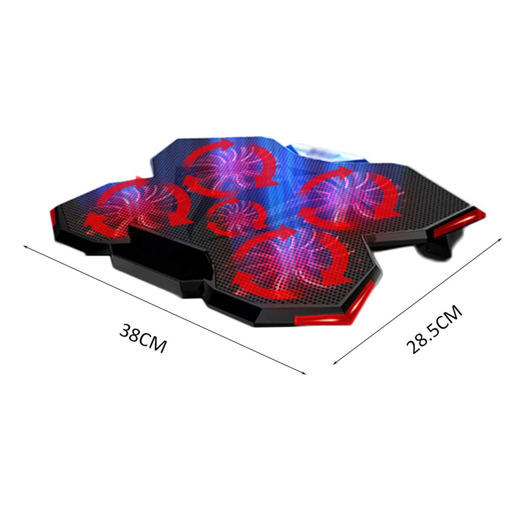 Notebook Stand Radiator Notebook Cooling Pad Mute Heat Sink (Color : B) by Zyj stores-Laptop Cooling Pads (Image #2)