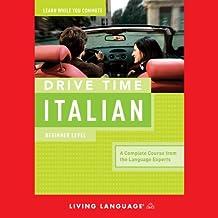 Drive Time Italian: Beginner Level