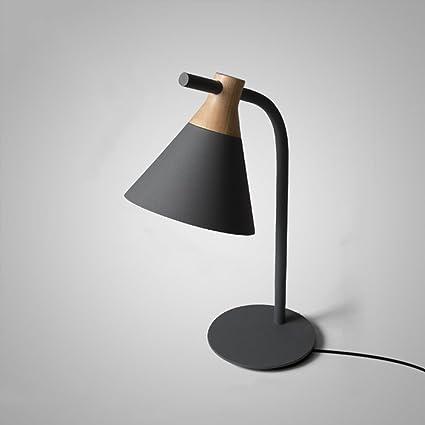 Pointhx Nordic Macarons Metal lámpara de Mesa Moderna ...