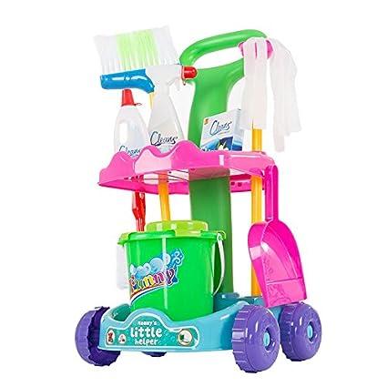 Amazon.com: bebé Pretend Play Juego de limpieza – Incluye ...