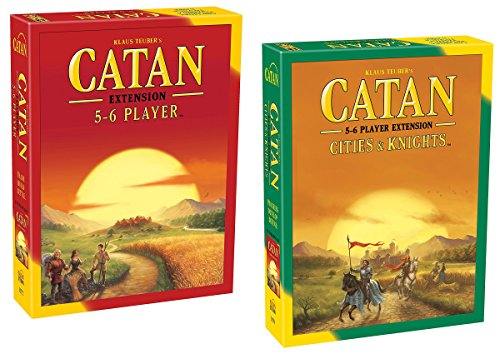 - Catan 5-6 Player Extension - 5th Edition with Catan: Cities & Knights 5-6 Player Extension 5th Edition