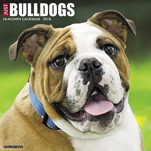 bulldog desk calendar - 2