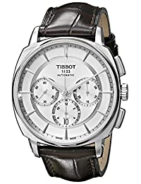 Tissot Men's T0595271603100 T Lord Analog Display Swiss Automatic Brown Watch