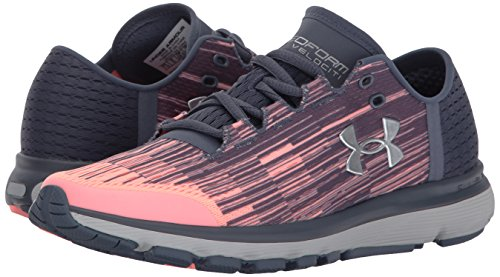 Laufschuhe METALLIC SANDS Damen SILVER GRAY Armour Under APOLLO PINK wEZzTq
