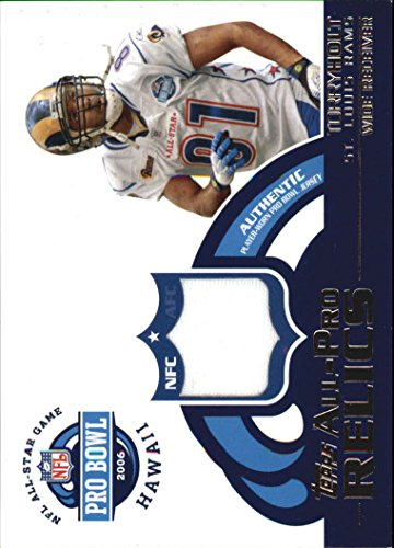 2006 Topps All-Pro Relics #APTH Torry Holt B Jersey - - Torry B