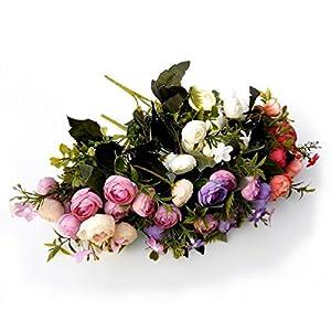 Artificial Little Rose Flower Artificial Flowers Party 18