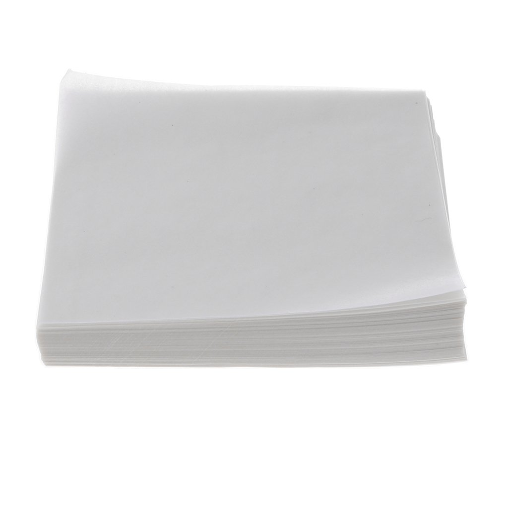 Baosity 500PCS Weighing Paper Pan Paper for Laboratory 150x150mm Square