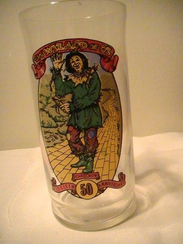 Coca Cola   Wizard Of Oz 50Th Anniversary Glass  1989    1 Glass   Scarecrow