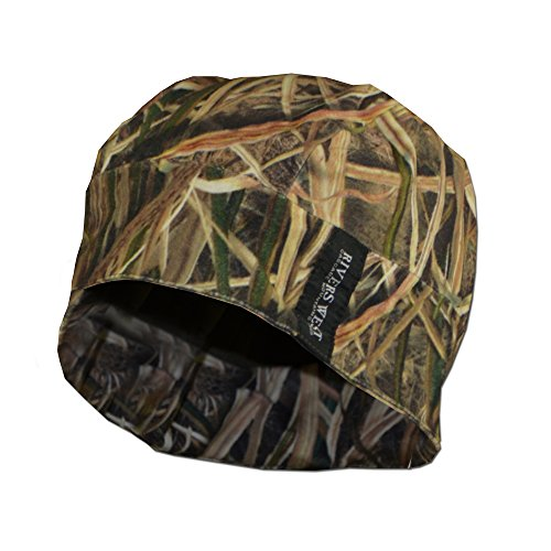 Reversible Skull Cap (Mossy Oak Shadow Grass (Shadow Fleece Cap)