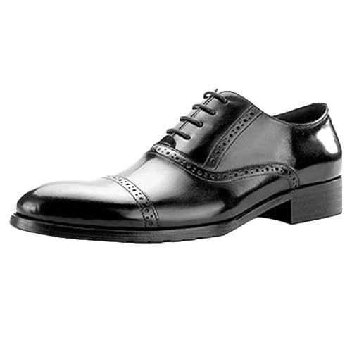Mr Zapato Marrón Boda con Cordones Zapatos De Traje De ...