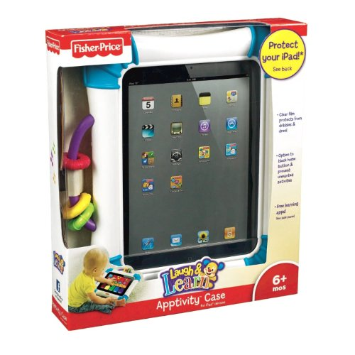 Laugh N Learn Apptivity Case for Ipad and Ipad2 (Ages 6 Month Up) by Fisher price